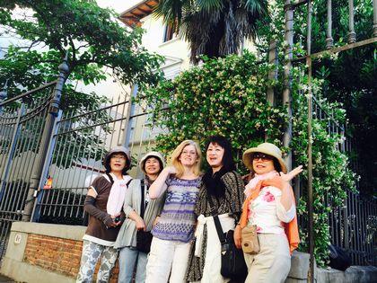 宿泊先フィレンツェ1、玄関